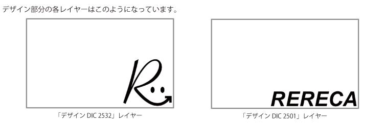 デザイン部分の書くレイヤーはこのようになっています