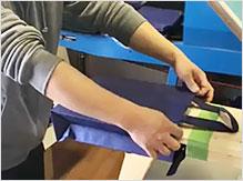 手作業による印刷位置のズレ