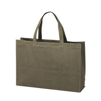 ベーシック不織布トートバッグ75 中横:ダークグレーの商品画像