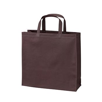 ベーシック不織布トートバッグ75 小:ダークブラウンの商品画像
