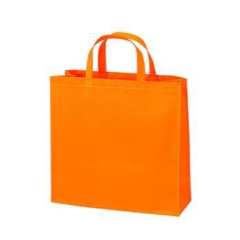 ベーシック不織布トートバッグ75 小:オレンジの商品画像