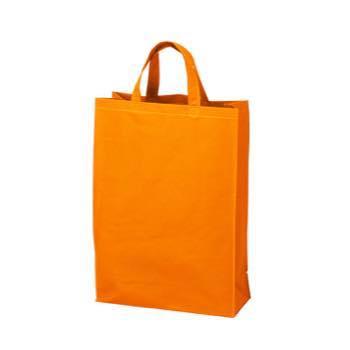 ベーシック不織布トートバッグ75 中縦:オレンジの商品画像