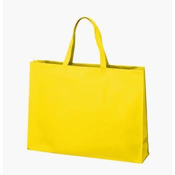 ベーシック不織布トートバッグ75 大:イエローの商品画像