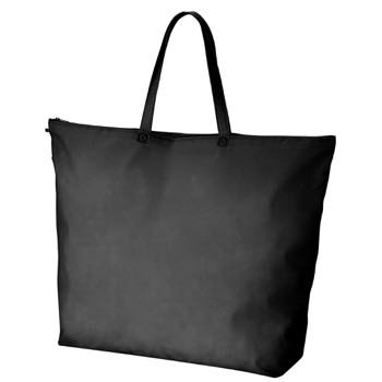 セール不織布バック大:ブラックの商品画像