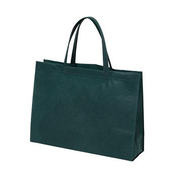 ベーシック不織布トートバッグ75 A4横:グリーンの商品画像