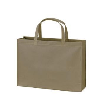 ベーシック不織布トートバッグ75 A4横:ダークグレーの商品画像