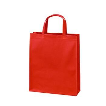 ベーシック不織布トートバッグ75 A4縦:アカの商品画像