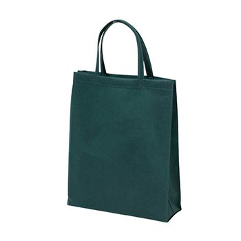 ベーシック不織布トートバッグ75 A4縦:グリーンの商品画像