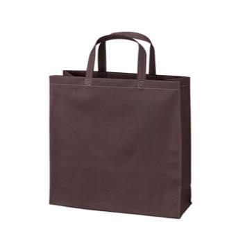 ベーシック不織布トートバッグ100 小:ダークブラウンの商品画像