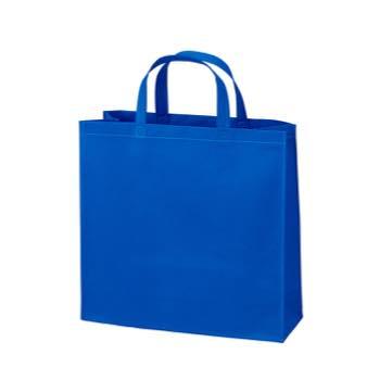 ベーシック不織布トートバッグ100 小:ブルーの商品画像