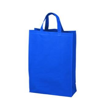 ベーシック不織布トートバッグ 100 中縦:ブルーの商品画像