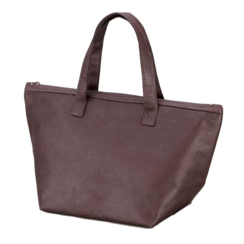 カラークール 不織布トートバッグ 小:ブラウンの商品画像