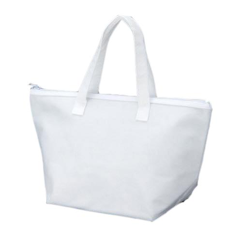 カラークール 不織布トートバッグ 小:ホワイトの商品画像