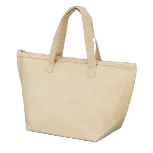 カラークール 不織布トートバッグ 小:ベージュの商品画像
