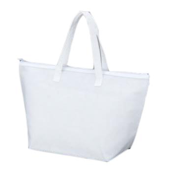 カラークール 不織布トートバッグ 中:ホワイトのメイン画像