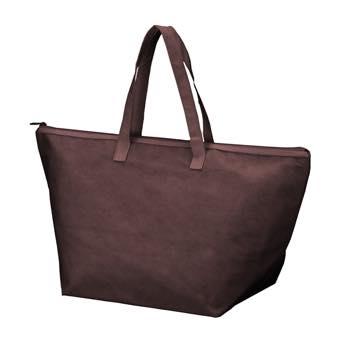 カラークール 不織布トートバッグ 大:ブラウンの商品画像