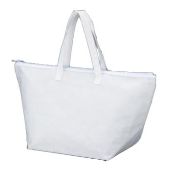 カラークール 不織布トートバッグ 大:ホワイトの商品画像