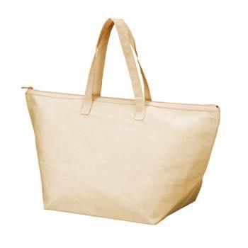 カラークール 不織布トートバッグ 大:ベージュの商品画像