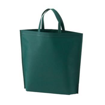 シンプル不織布トートバッグ  小:グリーンの商品画像