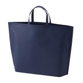 シンプル不織布トートバッグ  大:コンの商品画像