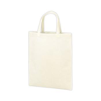 持ち手付き不織布バッグA4 75G:ホワイトの商品画像