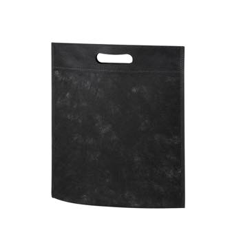 小判抜き不織布バッグB5:ブラックの商品画像
