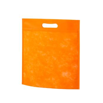 小判抜き不織布バッグB5:オレンジの商品画像