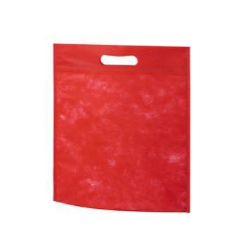 小判抜き不織布バッグB5:アカの商品画像