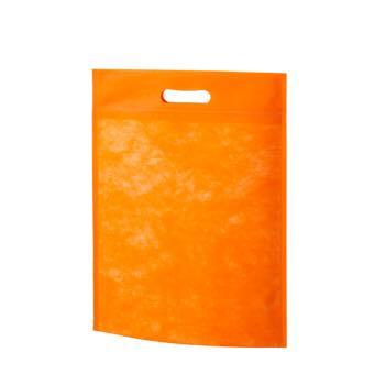 小判抜き不織布バッグA4:オレンジの商品画像