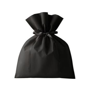 ギフトバックL:ブラックの商品画像