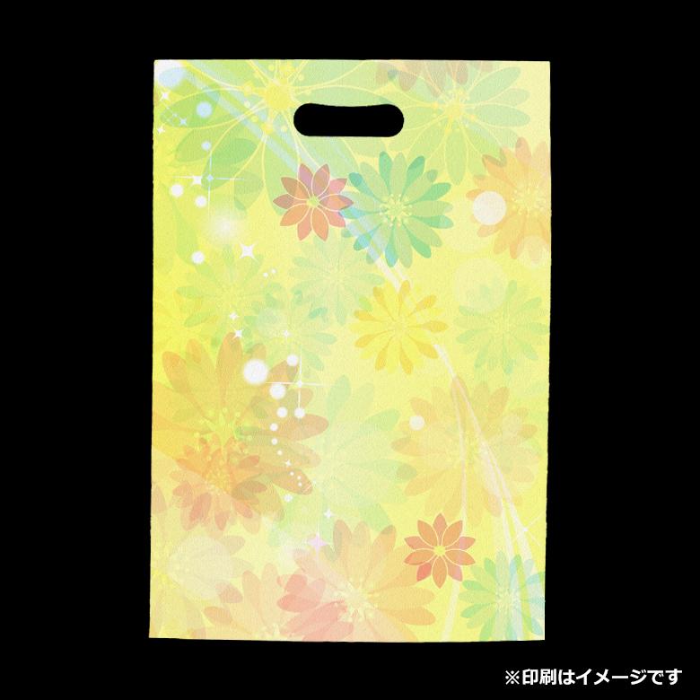 フルカラー不織布バッグ 小判抜き マチなしA4縦のサンプルイメージ画像1