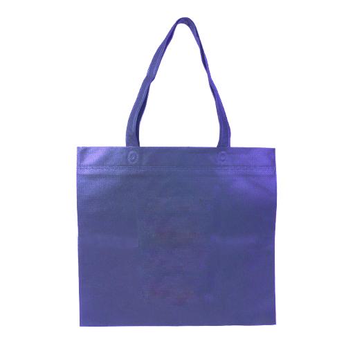 ワンポイント不織布バッグ 平袋 スクエア