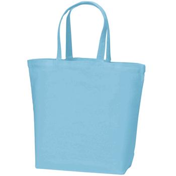 コットンキャンバストート(L):ライトブルーの商品画像