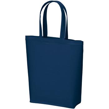 コットンバッグ(M):ネイビーの商品画像