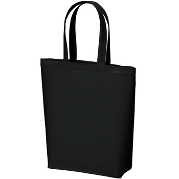 コットンバッグ(M):ブラックの商品画像