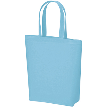 コットンバッグ(M):ライトブルーの商品画像