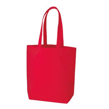 コットンキャンバストート(M):レッドの商品画像