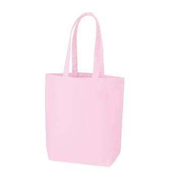 コットンキャンバストート(M):ピンクの商品画像