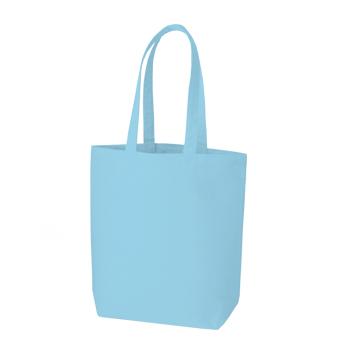 コットンキャンバストート(M):ライトブルーの商品画像