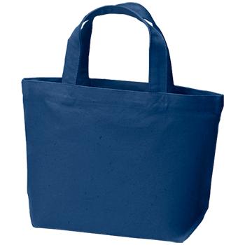 コットンキャンバストート(S):ミッドナイトブルーの商品画像