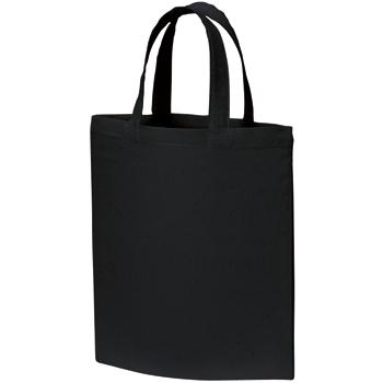 A4コットンバッグ:ブラックの商品画像