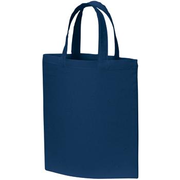 A4コットンバッグ:ネイビーの商品画像