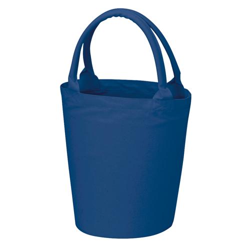 ベーカリーコットントートバッグ:ミッドナイトブルーの商品画像