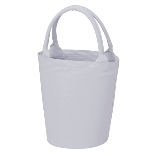 ベーカリーコットントートバッグ:スカイグレーの商品画像