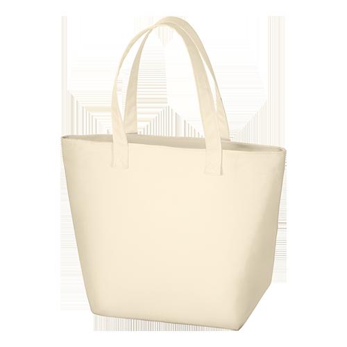 ファスナトートバッグL:ミルキーベージュの商品画像