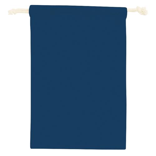 コットン巾着(M):ネイビーのイメージ画像