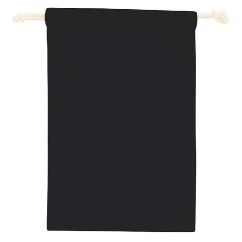 コットン巾着(M):ブラックのイメージ画像