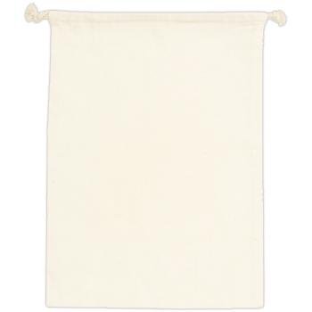 コットン巾着(L):ナチュラルのメイン画像