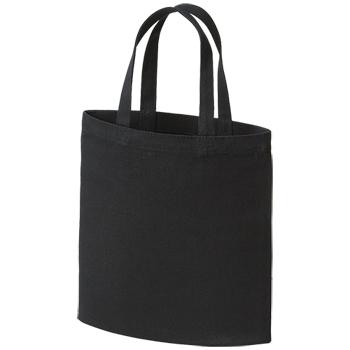 ライトコットンキャンバスバッグ(S):ナイトブラックの商品画像