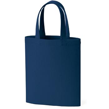 ライトコットンキャンバスバッグ(M):ネイビーの商品画像
